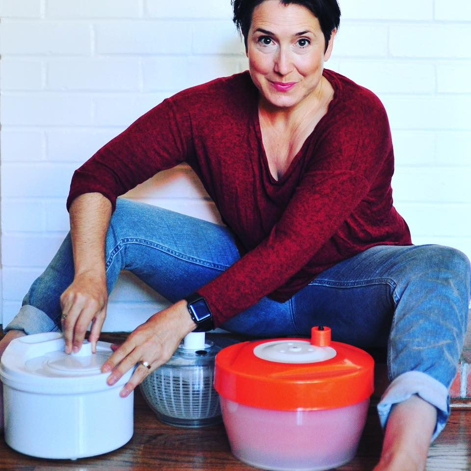 Learn With Less Ayelet Salad Spinners - Ayelet Marinovich